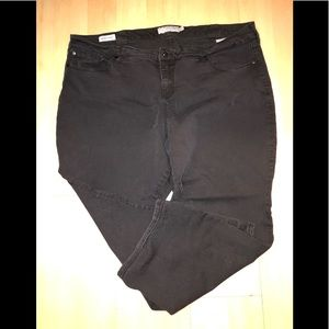 Torrid Barely Boot Black JEANS size 28S
